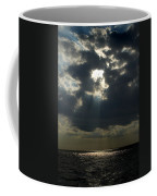 Sun Rays Pierce Through Clouds And Rest Coffee Mug