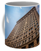 Sun Reflection On The Flatiron Building  Coffee Mug
