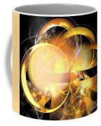 Sun Rings Spiral Coffee Mug