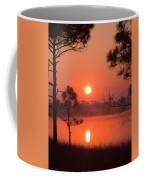 Sun Rise At Red Lake Grayton Beach State Park Florida Coffee Mug