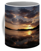 Sun Rise At West Lake In The Everglades Coffee Mug