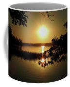 Sun Rise, Hamlin Lake Photograph Coffee Mug