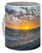 Sun Rising Over Atlantic Coffee Mug
