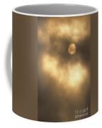 Sun Rising Through Fog Coffee Mug