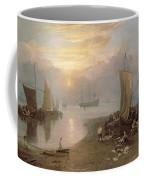 Sun Rising Through Vapour Coffee Mug