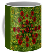 Sun Roses In The Deep Dark Forest With Fantasy And Flair Coffee Mug