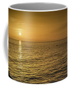 Sun Setting In Barbados Coffee Mug