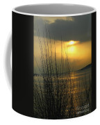 Sun Setting From Eastern Point Coffee Mug