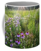 Sun Setting On Shelley Kelly Prairie Coffee Mug