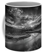 Sun Setting On The Owens River Coffee Mug