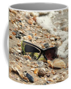 Sun Shades And Sea Shells Coffee Mug