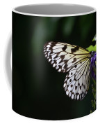Sun Shining Through The Wings Of A Rice Paper Butterfly Coffee Mug