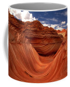 Sun Stripes On The Wave Coffee Mug