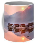 Sun Through Smoke At Mcdonald Coffee Mug