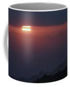 Sun Through The Mountains Coffee Mug