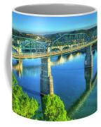 Sun Up Reflections Chattanooga Tennessee Coffee Mug