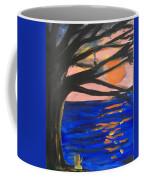 Sun Worshipping Coffee Mug