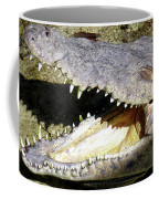 Sunbathing Croc Coffee Mug