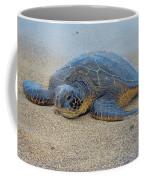 Sunbathing Honu Coffee Mug