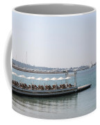 Sunbathing In A Row Coffee Mug