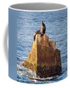 Sunbathing Sea Lion Coffee Mug