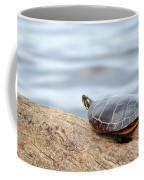 Sunbathing Turtle Coffee Mug