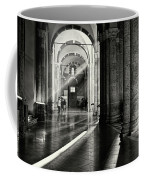 Sunbeam Inside The Church Coffee Mug