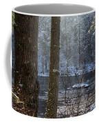 Sunbreak On A Snowy Day Coffee Mug