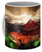 Sunburst At The Farm Coffee Mug