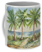 Sunburst Beach Morning Coffee Mug