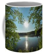 Sunburst Over The Reservoir Coffee Mug