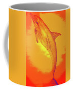 Sunburst Porpoise Coffee Mug