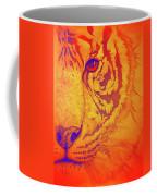 Sunburst Tiger Coffee Mug