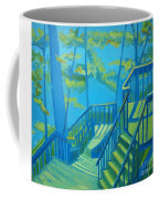 Suncook Stairwell Coffee Mug by Debra Bretton Robinson