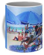 Sunday Beach Blues Coffee Mug
