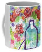 Sunday Market Flowers 2- Art By Linda Woods Coffee Mug