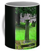 Sundial In St Leonard's Churchyard - Thorpe Coffee Mug