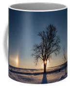 Sundogs Around A Tree Coffee Mug