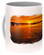 Sundown At Low Tide 2 Coffee Mug