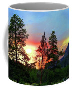 Sundown In Yellowstone Coffee Mug