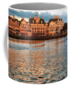 Sundown On The Boardwalk Walt Disney World Coffee Mug