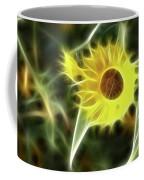 Sunflower-5030-fractal Coffee Mug