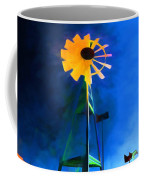 Sunflower And The Wind Spirit Coffee Mug