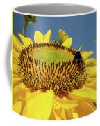 Sunflower Art Prints Honey Bee Sun Flower Floral Garden Coffee Mug