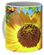 Sunflower Art Prints Orange Yellow Floral Garden Baslee Troutman Coffee Mug