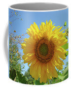 Sunflower Art Prints Sun Flower 2 Giclee Prints Baslee Troutman Coffee Mug