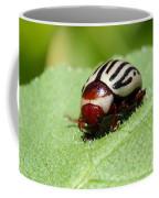 Sunflower Beetle Coffee Mug