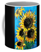 Sunflower Bouquet Coffee Mug