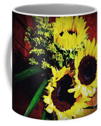 Sunflower Decor 3 Coffee Mug