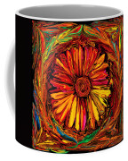 Sunflower Emblem Coffee Mug